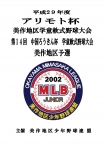 アリモト杯美作地区学童軟式野球大会 準優勝!!