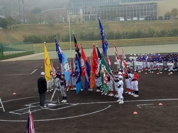平成29年度美作地区少年野球連盟総合開会式